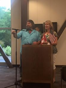 3,000 Miles To Eternity, Duane & Selena Pannell, authors, Book launch, Uintah Co Library