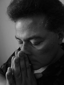 Praying man on Pannellbytes forgiveness blog post